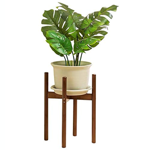 Plant Stand, Wooden Cross Display Potted Stand Indoor Corner Display Rack, Mid Century Modern Wood Flower Pot Holder (Pot Not Included), For Indoor/Living Room, Size: 50 * 28 * 28cm