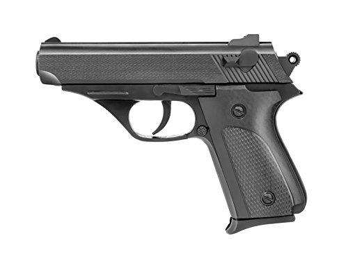 Rayline 036A Plastik Softair Pistole (Federdruck) Gewicht 75 g, 6mm Kaliber, Farbe: Schwarz, Energie: <0.5 Joule, Länge: 145 mm