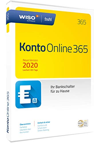 WISO Konto Online 365 (aktuelle Version 2020) (WISO Software) | Disc in Standardverpackung