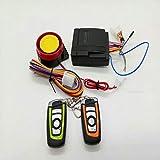 Vespa universal anti-robo de seguridad de alarma del sistema de alarma de la motocicleta sistema de dos vías con motor de encendido por control remoto llavero