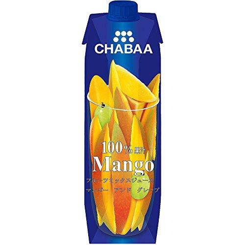 CHABA 100%ミックスジュース マンゴー 1L [8135]