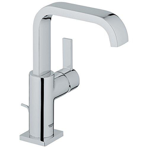 Allure Grifo de baño de un solo agujero con boquilla alta, Cromado Starlight, 1.2 GPM