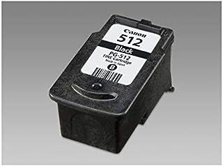 Canon Tintenpatrone PG 512   schwarz 15 ml   Original für Tintenstrahldrucker