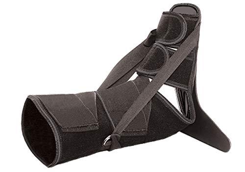 Ortopedia plantar Ortesis de tobillo y pie Caída del pie Tamaño universal después de la cirugía/después de las lesiones