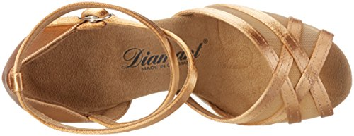 Diamant Damen Tanzschuhe 035-108-087 Standard & Latein, Beige (Bronze), 38 2/3 EU (5.5 UK) - 7