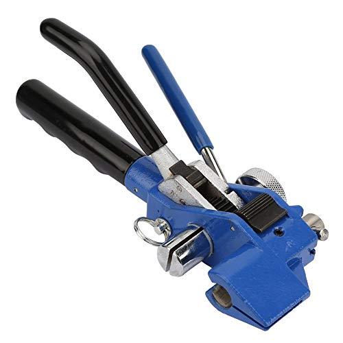 Kabelbinderpistool roestvrij staal Zip tangen bundel tool, rits kabelbinder tangen schaar kabelbinderpistool staalband ballpers bundel tool