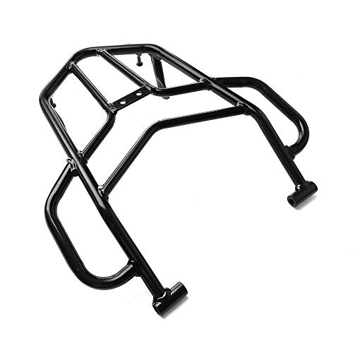 MotorFansClub Rear Luggage Rack with Hand Grip Rail Bar Fit For Compatible With Honda CRF250L CRF250M CRF250 RALLY 2012 2013 2014 2015 2016 2017