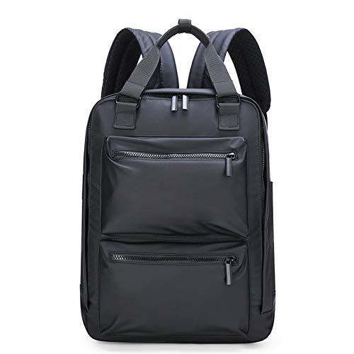BARUYO Zaino Da Viaggio Impermeabile in Nylon Antifurto Da Uomo Borse Per Laptop Borsa a Tracolla Leggera E Traspirante Multi-tasca Casual Traspirante 29cmX10cmX41cm/ nero