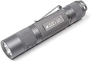 A10R(CREE XLamp XM-L2・U2)明るさ900ルーメン[リフレクタータイプ] モードメモリー バッテリー交換・充電サイン 充電インジケーター ブラックorグレー/LED 懐中電灯 閃光ハンディライト懐中電灯 充電式 小型 フラッ...