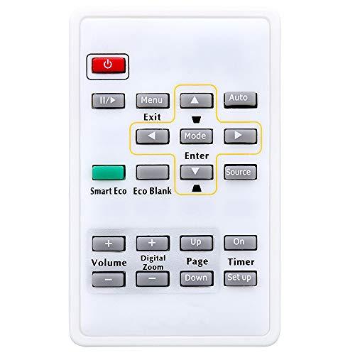 Leankle Mando a distancia 5F.26J1K.271 para proyectores BenQ CP120C, CP220, MP510, MP514, MP515, MP515P, MP515ST, MP522, MP523, MP525, MP525P, MP526, MP575, MP576, MP610, MP611, MP611C, MP615P, MP620C