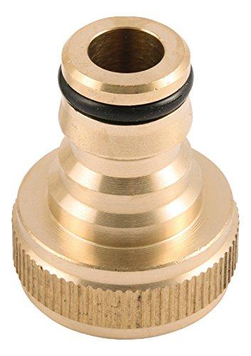 Sanitop-Wingenroth 18004 7 Tuinsteeksysteem kraanaansluiting 3/4 inch, messing
