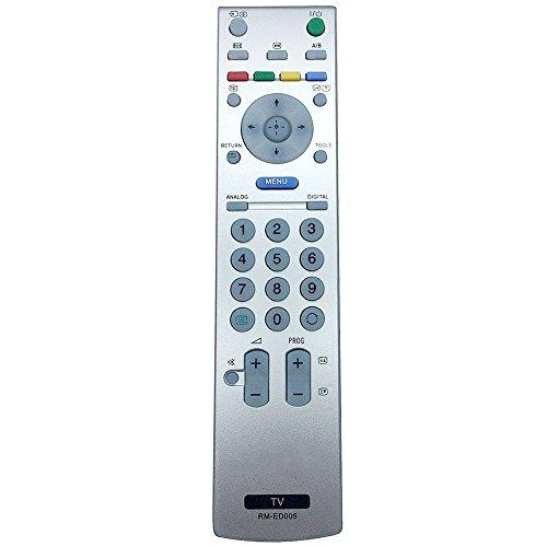 ALLIMITY RM-ED005 Fernbedienung Ersetzt für Sony Bravia LCD TV KDL-46V250 KDL-46V2000 KDL-46S2000 KDL-40V2000 KDL-40S2000 KDL-32V2000 KDL-32S2020E KDL-32S2020 KDL-32S2010