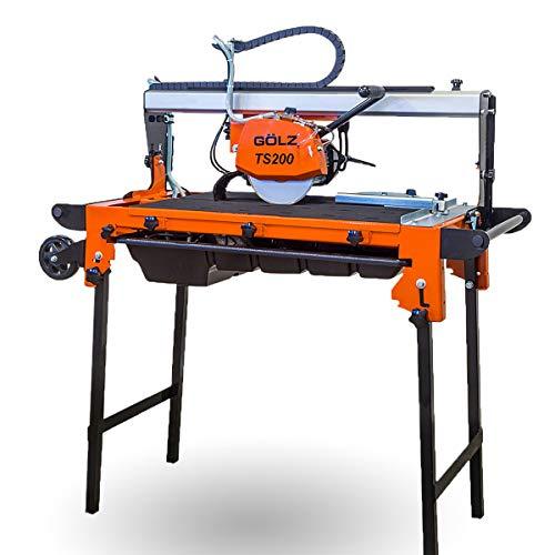 gölz TS de 200–Cabeza de puente––Cortadora de azulejos para la aplicación profesional.–Fabricado en Alemania.