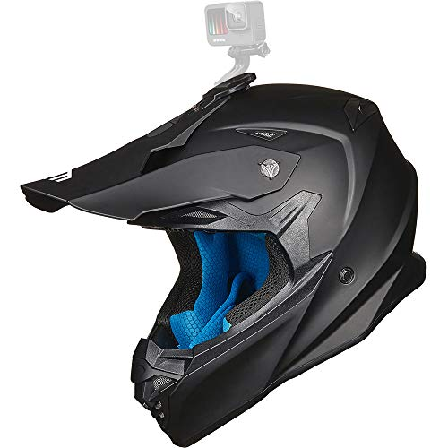 ILM Adult Motocross Dirt Bike Helmet with...