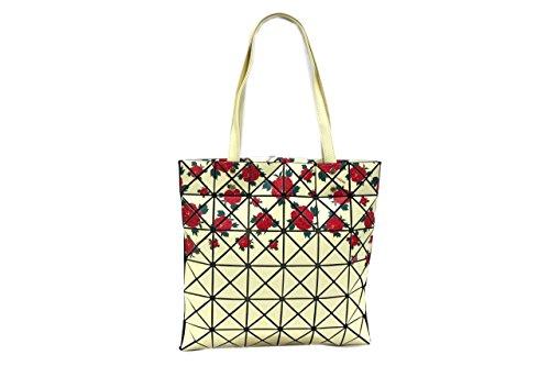 Naj Oleari Borsa donna l.Kyoto 61380 mod. shopping a spalla giallo