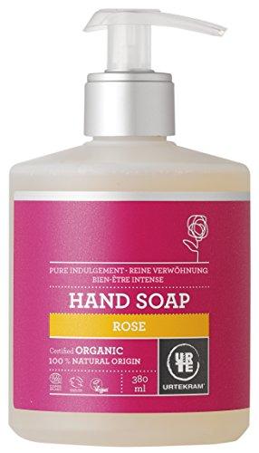 Urtekram Rose flüssige Handseife Bio, reine Verwöhnung, 380 ml