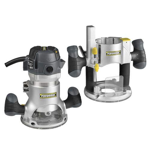 Performax 2 HP Variable Speed Plunge & Fixed Base Router Kit