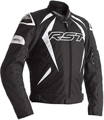 RST Tractech EVO 4 Motorrad Textiljacke Schwarz/Weiß 62