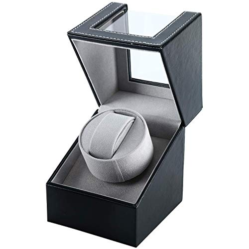 Automatic Watch Winder Box, Watch Winder Storage Case Watch Rotator...
