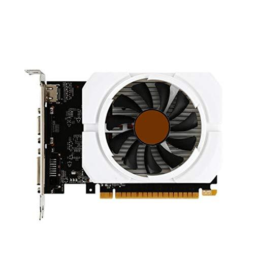 グラフィックスカードデスクトップPC MSIゲームGeForce GT 710 2G DDR3 64ビットPCI Express 2.0サポートDirectX 12、シングルファングラフィックスカード ゲーム用グラフィックカード