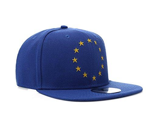 UNDERGROUND KULTURE EU Union Européenne Casquette de Baseball Bleu Snapback