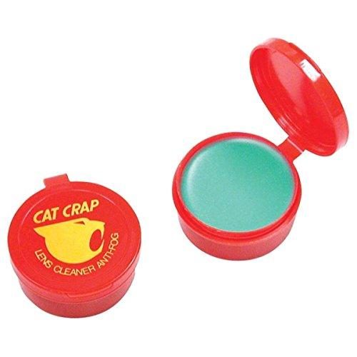EK USA, Cat Crap, Anti-Fog Lens Cleaner Balm, Safe on All Lenses, Eyeglasses, Goggles, and Camera Lenses - 0.5 Ounce