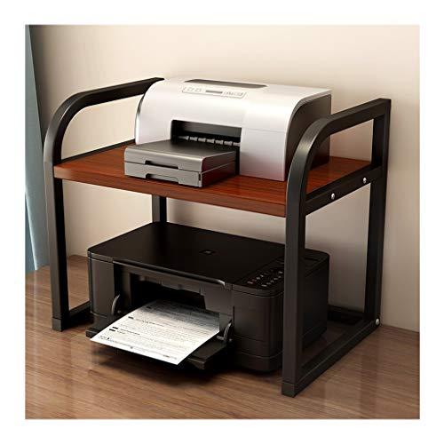 Carro de la impresora Impresora multifuncional estante multi-capa simple Oficina de almacenamiento dispositivo de soporte de almacenamiento de documentos Copiadora Estantes impresora doméstica Soporte