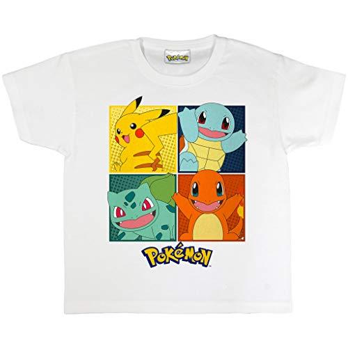 Pokemon Cuadrícula Camiseta de los...