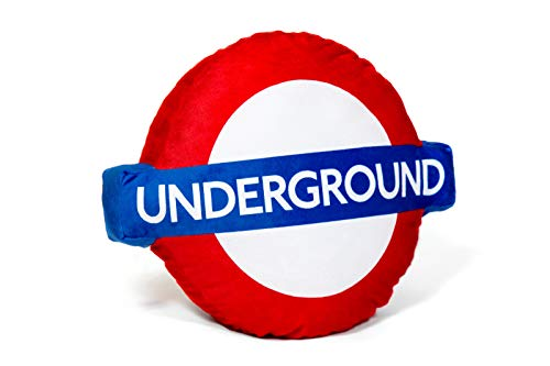 London Underground Roundel Logo Cojín/Almohada