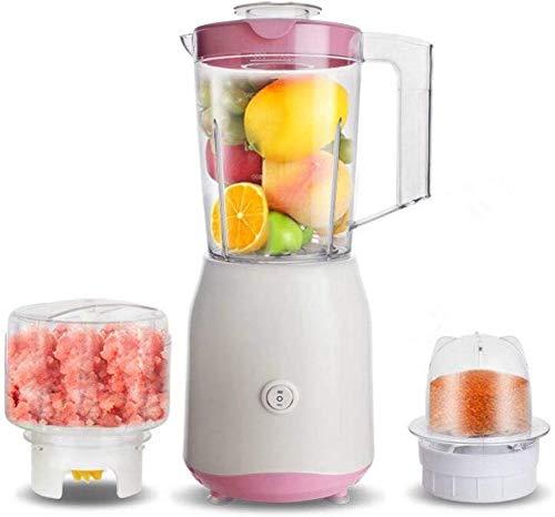GPWDSN Mini blender osobisty blender wielofunkcyjny, urządzenie do smoothie, do owoców i warzyw, 250 W, automatyczny mikser z 3 różnymi miseczkami, łatwy w obsłudze