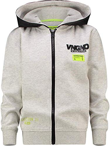 Vingino Onpi Jungen Sweat Jacke Light Grey Melee (152)