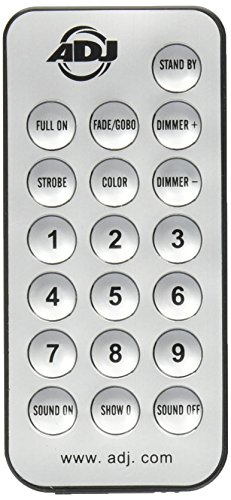 ADJ UC-IR Remote Control for Select ADJ Lighting Fixtures
