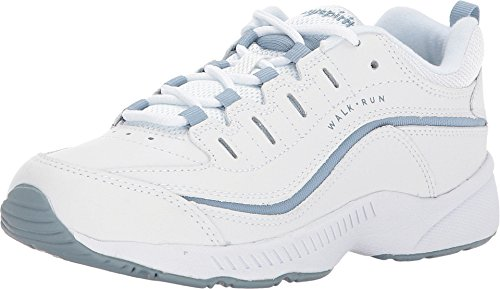 Easy Spirit Roadrun White/Light Blue 7.5 M (B)