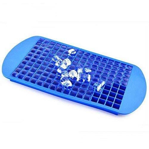 Eiswürfelform Silikon, TEERA Mini Silikonformen Eiswürfelbehälter, BPA-Frei, Eiswürfelform Lagerbehälter für Kitchen Bar Partygetränke