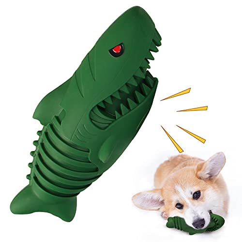 MOMOHOO Dog Toys for Aggressive Chewers, Dog Toy Interactive Dog Toys for Small Medium Dogs, Indestructible Squeaky Dog Toys, Durable Dog Toys Tough Chew Toys, Toothbrush Toy Teeth Cleaning Dog Toy