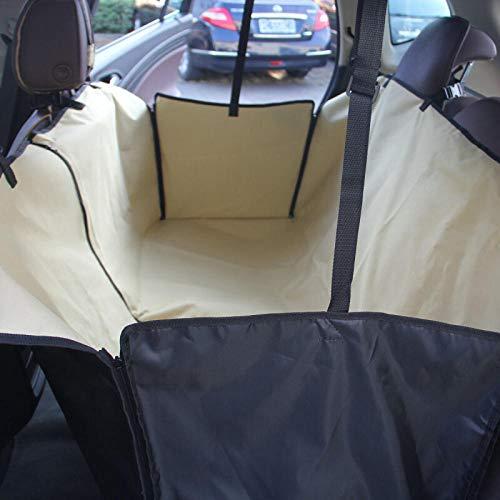 TTXP Camas para Perro Amarillo Asiento de Coche para Mascotas para Coche SUV Vans Camión
