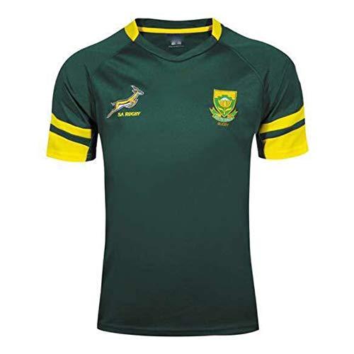2016 South Africa Rugby Jersey, Deportes de Verano Transpirable Camiseta Ocasional Camiseta de fútbol Polo, S-XXXL XL