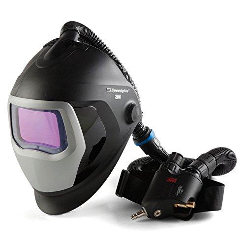 SPEEDGLAS 9100 AIR Schweißmaske Schweißhelm mit V-500E Atemschutzsystem, Größe:73 x 107 mm