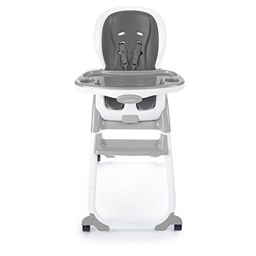 Ingenuity SmartClean Trio Elite 3-in-1 High Chair - Slate - High Chair, Toddler Chair, & Booster