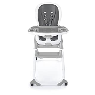 Ingenuity SmartClean Trio Elite 3-in-1 High Chair – Slate - High Chair, Toddler Chair, and Booster (B07CPVPFTD)   Amazon price tracker / tracking, Amazon price history charts, Amazon price watches, Amazon price drop alerts