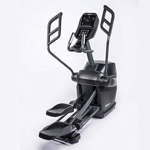 Fuel Fitness EC1000 Crosstrainer, für zuhause, HIIT-Trainer, natürlicher Bewegungsablauf. gelenkschonendes Training, Ganzkörperworkout, Induktionsbremse mit Watt-Steuerung, KINOMAP