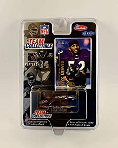 Team Collectible 1999 Fleer NFL Ray Lewis Baltimore Ravens Car with Trading Card - Diecast SUV