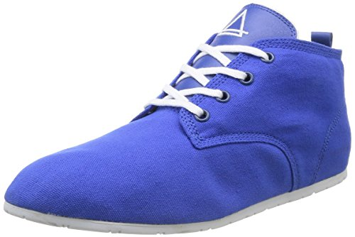 Eleven Paris Baswhite, Baskets Mode Mixte Adulte - Bleu (True Blue), 40 EU