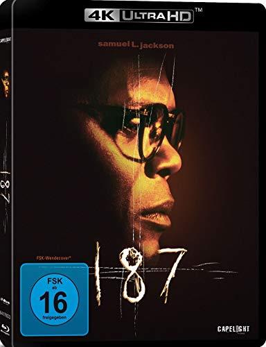 187 - Eine tödliche Zahl (4K Ultra HD/UHD) [Blu-ray]