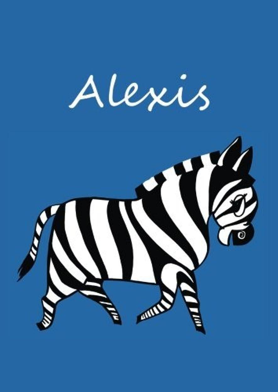 プランターコンパクトすでにAlexis: individualisiertes Malbuch / Notizbuch / Tagebuch - Zebra - A4 - blanko