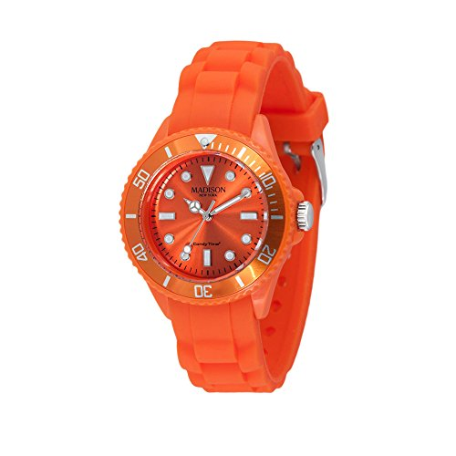 Madison New York Unisex-Armbanduhr Candy Time Mini Analog Silikon L4167-04/3