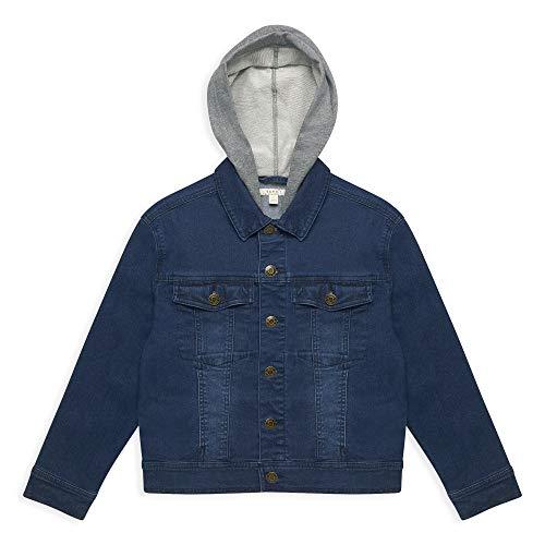 ESPRIT Kids Rq4100601 Jacket Giacca, Blu (Dark Indigo Denim 461), 164 (Taglia Produttore: Large) Bambino