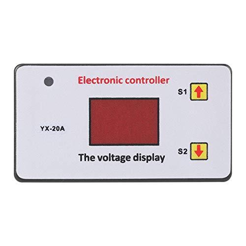 SALUTUYA Controlador de bajo Voltaje de la batería, 12V 20A, Herramienta Industrial Proteger el Accesorio de la batería Desconexión de la batería de bajo Voltaje,