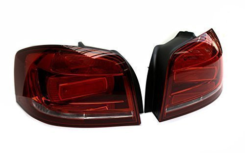 Original Audi Ersatzteile schwarze Rückleuchten Audi A3 (8P), Original Facelift Nachrüstsatz