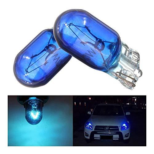 ZIHAN Feil Store 10 Piezas de T10 Bombilla halógena de vehículos Luces Luces Interiores Placa de la lámpara Fuente de luz del Instrumento luz del Coche Linterna de la luz de señal de luz